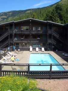 Silver Skis Outdoor Pool