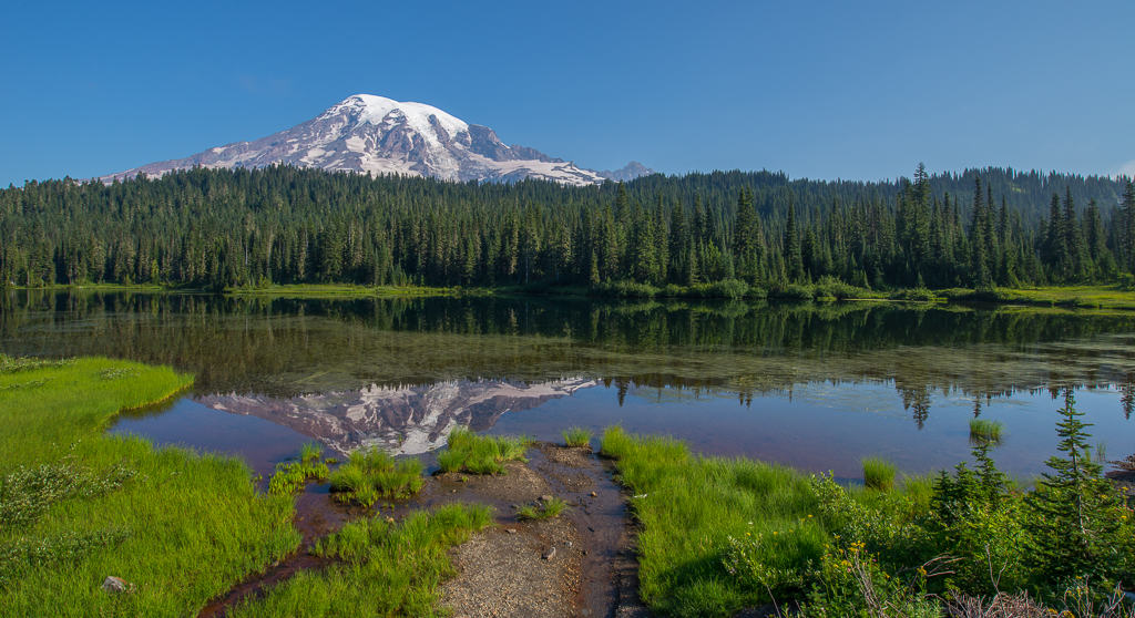 Reflection Lakes at Mount Rainier | Visit Rainier