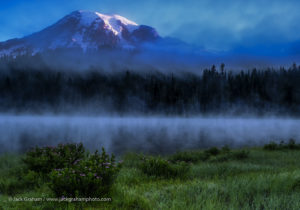 Mount Rainier National Park, Wildflowers and Landscapes