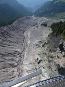 Mount Rainier National Park Follow Bulking zone downstream of incision